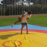 Voula Zygouri - Wrestling lessons - Imagine Peace Youth Camp 2014 (5)