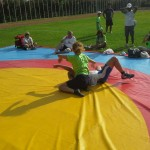 Voula Zygouri - Wrestling lessons - Imagine Peace Youth Camp 2014 (50)
