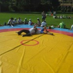 Voula Zygouri - Wrestling lessons - Imagine Peace Youth Camp 2014 (53)
