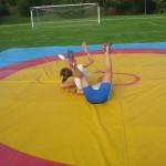 Voula Zygouri - Wrestling lessons - Imagine Peace Youth Camp 2014 (54)