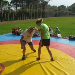 Voula Zygouri - Wrestling lessons - Imagine Peace Youth Camp 2014 (55)