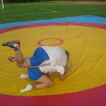 Voula Zygouri - Wrestling lessons - Imagine Peace Youth Camp 2014 (57)