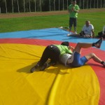 Voula Zygouri - Wrestling lessons - Imagine Peace Youth Camp 2014 (58)