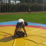 Voula Zygouri - Wrestling lessons - Imagine Peace Youth Camp 2014 (59)