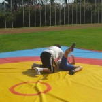 Voula Zygouri - Wrestling lessons - Imagine Peace Youth Camp 2014 (6)