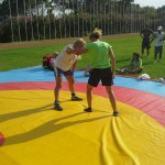 Voula Zygouri - Wrestling lessons - Imagine Peace Youth Camp 2014 (60)