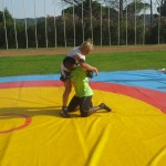 Voula Zygouri - Wrestling lessons - Imagine Peace Youth Camp 2014 (61)