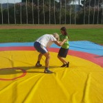 Voula Zygouri - Wrestling lessons - Imagine Peace Youth Camp 2014 (62)