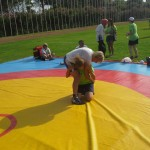 Voula Zygouri - Wrestling lessons - Imagine Peace Youth Camp 2014 (65)