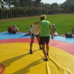 Voula Zygouri - Wrestling lessons - Imagine Peace Youth Camp 2014 (67)