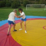 Voula Zygouri - Wrestling lessons - Imagine Peace Youth Camp 2014 (68)