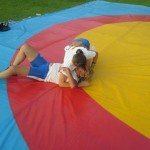 Voula Zygouri - Wrestling lessons - Imagine Peace Youth Camp 2014 (7)