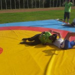 Voula Zygouri - Wrestling lessons - Imagine Peace Youth Camp 2014 (70)
