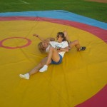 Voula Zygouri - Wrestling lessons - Imagine Peace Youth Camp 2014 (73)