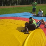 Voula Zygouri - Wrestling lessons - Imagine Peace Youth Camp 2014 (74)