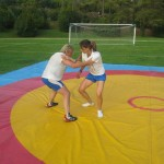 Voula Zygouri - Wrestling lessons - Imagine Peace Youth Camp 2014 (75)