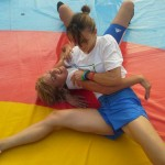 Voula Zygouri - Wrestling lessons - Imagine Peace Youth Camp 2014 (76)
