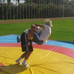 Voula Zygouri - Wrestling lessons - Imagine Peace Youth Camp 2014 (78)