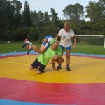 Voula Zygouri - Wrestling lessons - Imagine Peace Youth Camp 2014 (79)