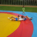 Voula Zygouri - Wrestling lessons - Imagine Peace Youth Camp 2014 (81)