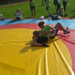 Voula Zygouri - Wrestling lessons - Imagine Peace Youth Camp 2014 (82)