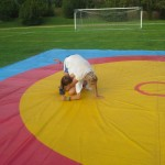 Voula Zygouri - Wrestling lessons - Imagine Peace Youth Camp 2014 (83)