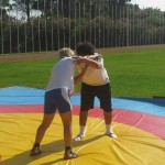 Voula Zygouri - Wrestling lessons - Imagine Peace Youth Camp 2014 (84)