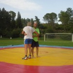 Voula Zygouri - Wrestling lessons - Imagine Peace Youth Camp 2014 (85)