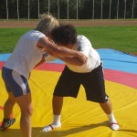 Voula Zygouri - Wrestling lessons - Imagine Peace Youth Camp 2014 (86)