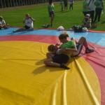 Voula Zygouri - Wrestling lessons - Imagine Peace Youth Camp 2014 (88)