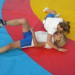 Voula Zygouri - Wrestling lessons - Imagine Peace Youth Camp 2014 (89)