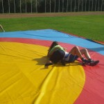 Voula Zygouri - Wrestling lessons - Imagine Peace Youth Camp 2014 (9)