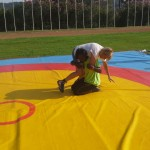 Voula Zygouri - Wrestling lessons - Imagine Peace Youth Camp 2014 (91)