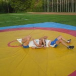 Voula Zygouri - Wrestling lessons - Imagine Peace Youth Camp 2014 (92)
