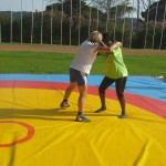 Voula Zygouri - Wrestling lessons - Imagine Peace Youth Camp 2014 (93)