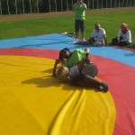 Voula Zygouri - Wrestling lessons - Imagine Peace Youth Camp 2014 (94)