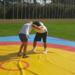 Voula Zygouri - Wrestling lessons - Imagine Peace Youth Camp 2014 (95)