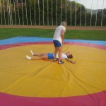 Voula Zygouri - Wrestling lessons - Imagine Peace Youth Camp 2014 (96)
