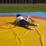Voula Zygouri - Wrestling lessons - Imagine Peace Youth Camp 2014 (97)
