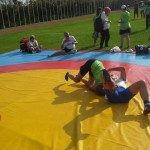 Voula Zygouri - Wrestling lessons - Imagine Peace Youth Camp 2014 (98)