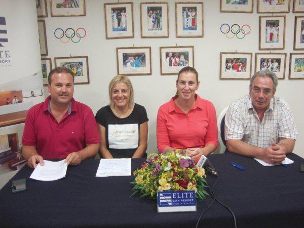 2ημερο εκδηλώσεων, για τα 10 χρόνια από τους Ολυμπιακούς αγώνες Αθηνα 2004 - Βούλα Ζυγούρη 3