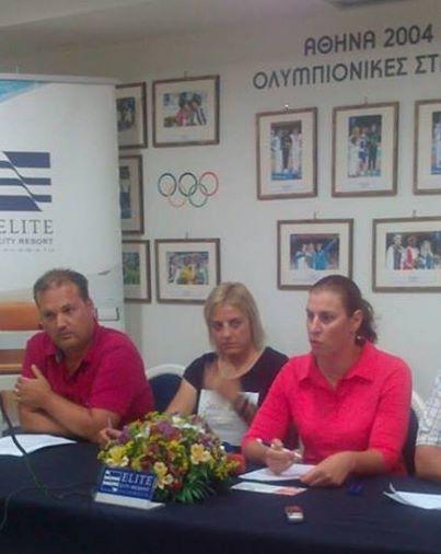 2ημερο εκδηλώσεων, για τα 10 χρόνια από τους Ολυμπιακούς αγώνες Αθηνα 2004 - Βούλα Ζυγούρη