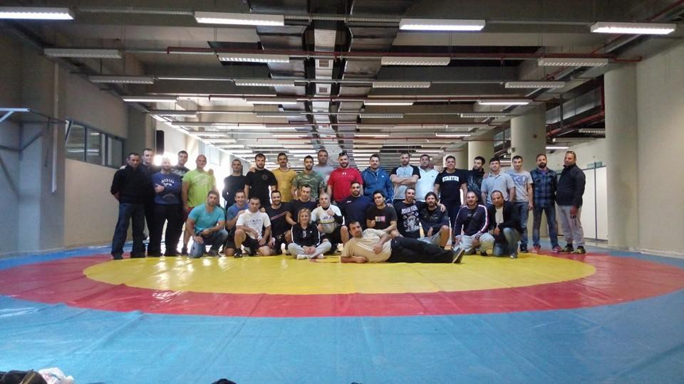 Σχολή προπονητών πάλης - MMA - Βούλα Ζυγούρη