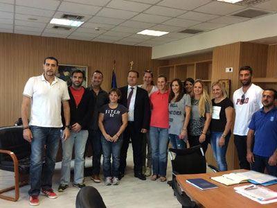 Σύλλογος Ελλήνων Ολυμπιονικών - Υφυπουργός Παιδείας - Βούλα Ζυγούρη