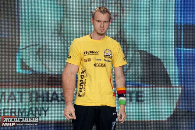 Matthias Schlitte - Πάλη