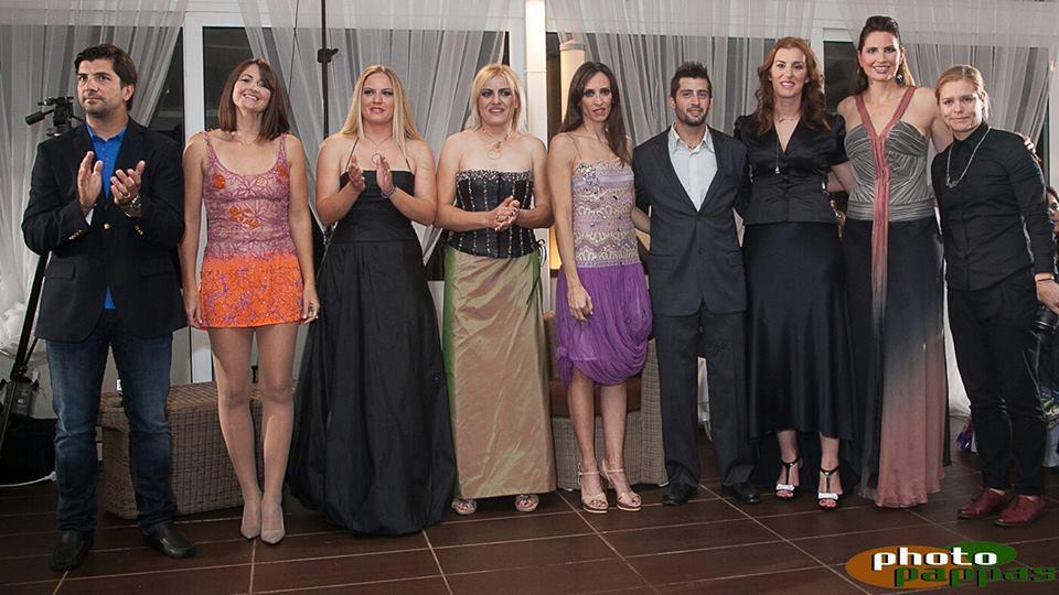 Επίδειξη μόδας του Ναυτικού Oμίλου ΕΝΟΑ - Ολυμπιονίκες - Βούλα Ζυγούρη 8