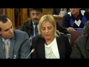 Εκδήλωση για τον αθλητικό νόμο - Παρέμβαση Βούλας Ζυγούρη