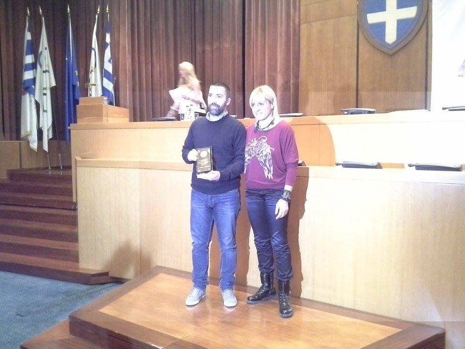 Κοπή της πρωτοχρονιάτικης πίτας 2015 και βραβευσεις της ομοσπονδίας της πάλης - Βούλα Ζυγούρη 4