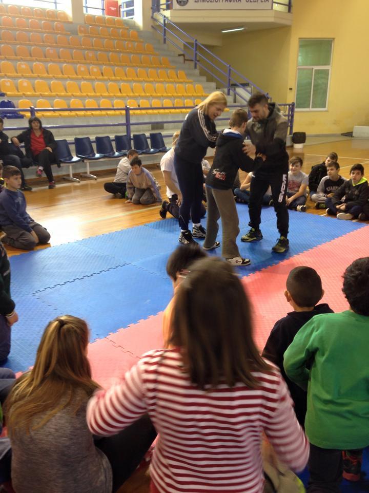 Ημερίδα Χαλκίδα Σχολικός Εκφοβισμός - Βούλα Ζυγούρη 2