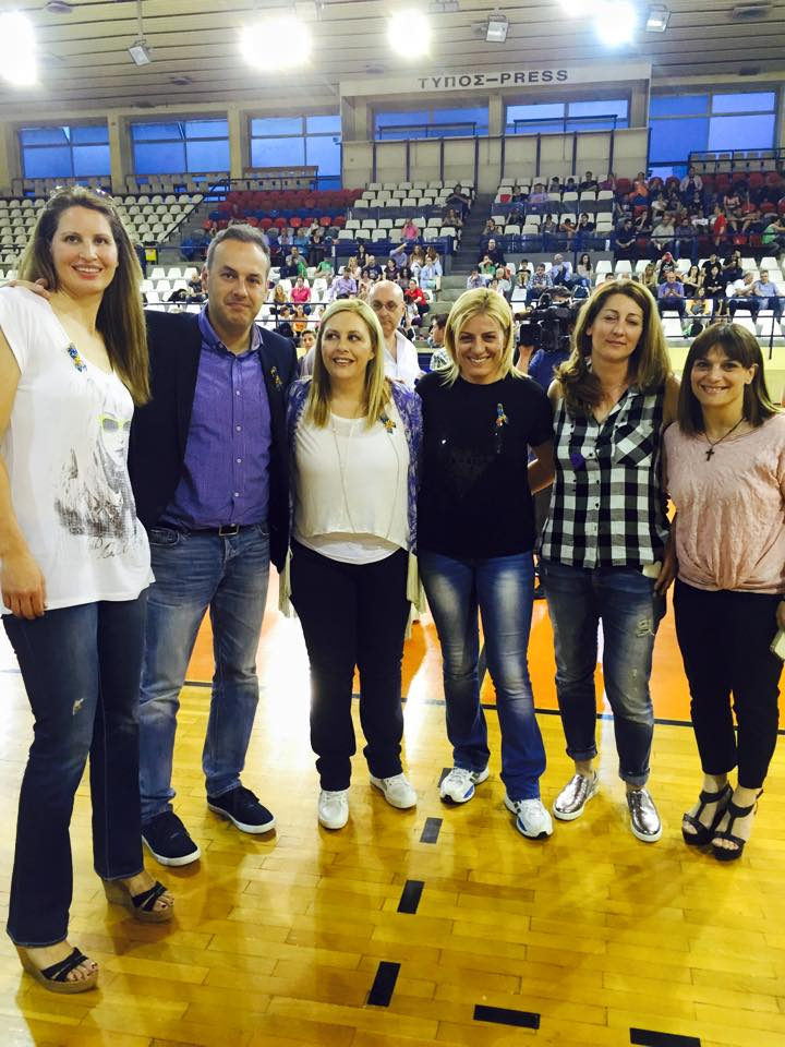 Αγώνας μπάσκετ για την στήριξη αυτιστικών ατόμων - Βούλα Ζυγούρη 2
